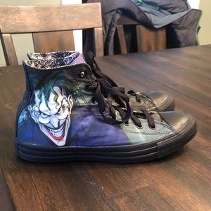 Converse DC Comics Joker Hi-Top Sneakers